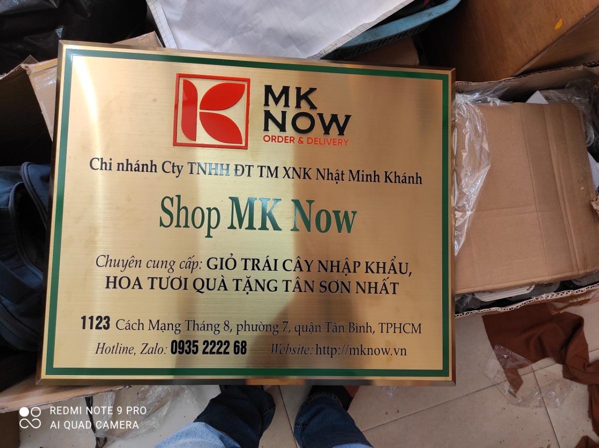 MKnow Tân Bình: Shop chuyên cung cấp Giỏ trái cây nhập khẩu, hoa tươi quà tặng Tân Sơn Nhất