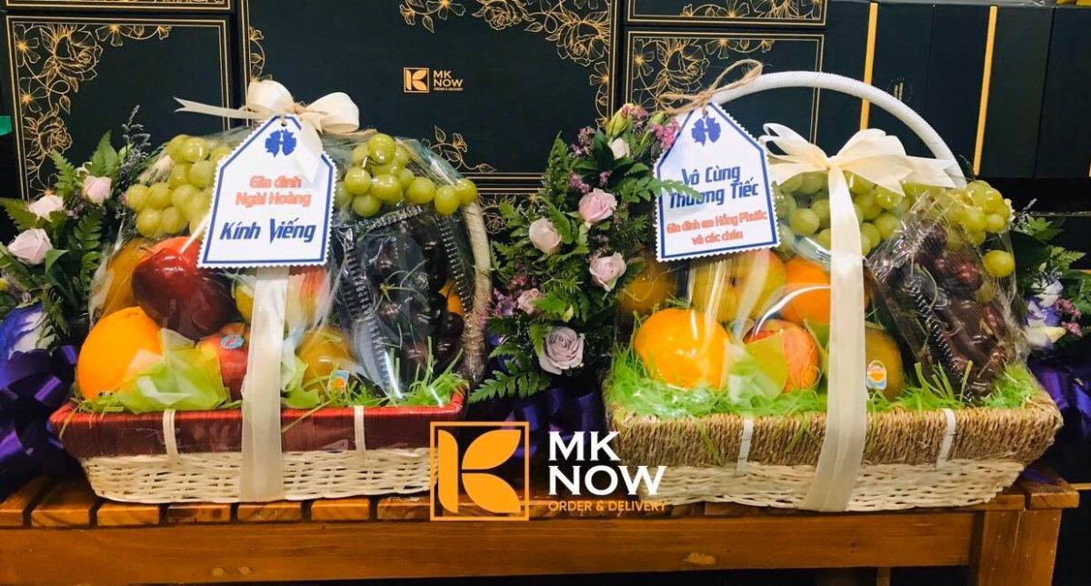 Quà 20/11 cho giáo viên mầm non, thầy cô, giáo viên chủ nhiệm - điện trái cây nhập khẩu làm quà tặng cùng MKnow