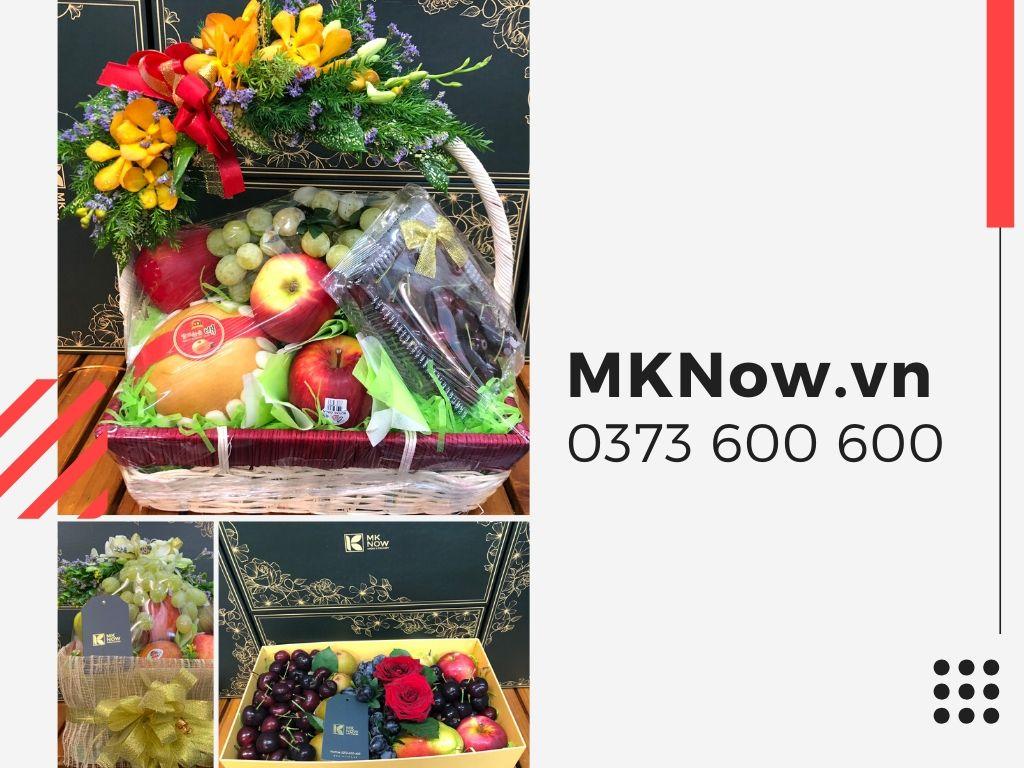 """Xu hướng mới tặng quà sức khỏe """"lên ngôi"""" - Ẩm thực MKnow và hơn 150 mẫu quà tặng thiết thực, độc đáo và ý nghĩa từ trái cây nhập khẩu"""