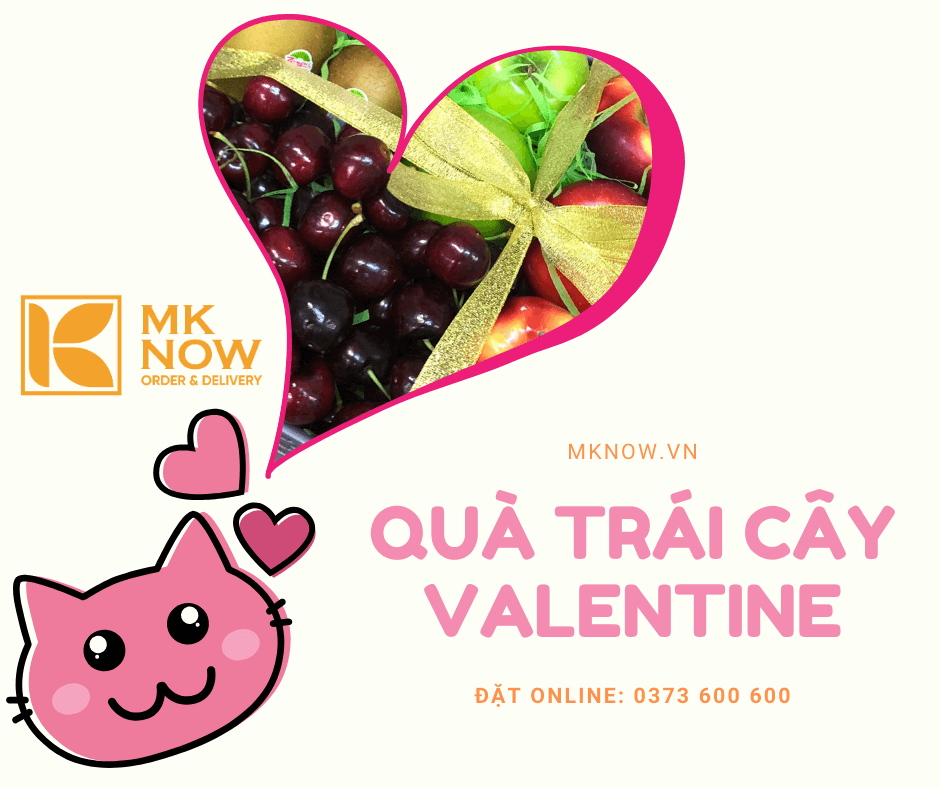 Quà tặng Cherry trái cây từ MKnow - Món quà tặng Valentine 14/2 sang trọng, ý nghĩa & độc đáo dễ lấy lòng được phái đẹp trong dịp lễ Tình Nhân