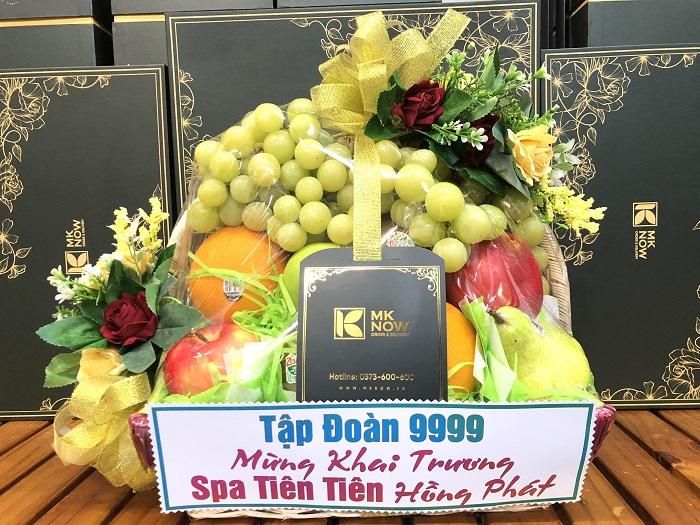 Gợi ý cách chọn giỏ trái cây mừng khai trương mang lại thịnh vượng cho gia chủ từ MKnow