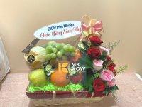 Giỏ quà sinh nhật trái cây nhập khẩu - FSNK272
