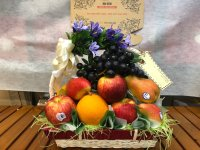 Giỏ trái cây phúng điếu - FSNK81