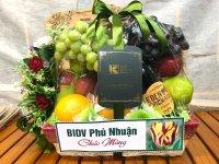 Giỏ trái cây quà tặng ngân hàng - FSNK137