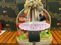 Giỏ trái cây Tết mix thức uống có cồn - FSNK213