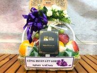 Giỏ trái cây viếng tang - FSNK113