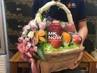 Giỏ trái cây tặng tòa soạn báo - FSNK251
