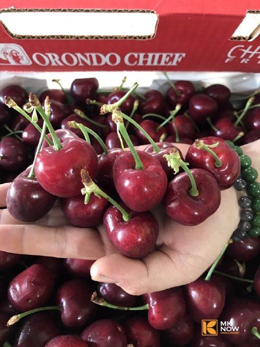 Cherry Úc hàng Air 1 ngày về đến TPHCM - Top đầu lựa chọn hộp quà trái cây sang chảnh dàng tặng người yêu thương