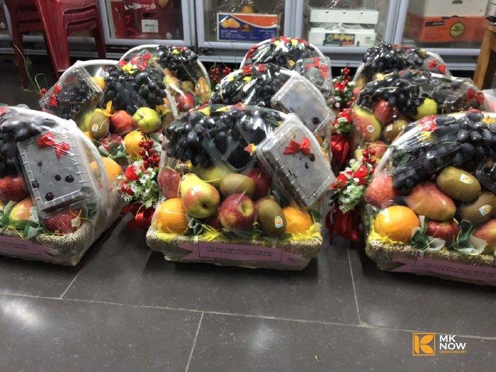 Giỏ trái cây tặng tập thể cơ quan báo chí ngày 21/6 - thực hiện bởi Giỏ trái cây MKnow