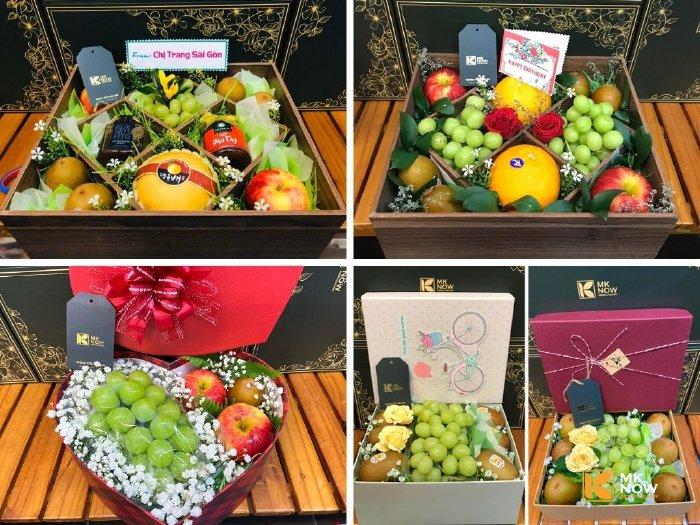 Hộp quà trái cây MKnow - Vintage - Thủ công