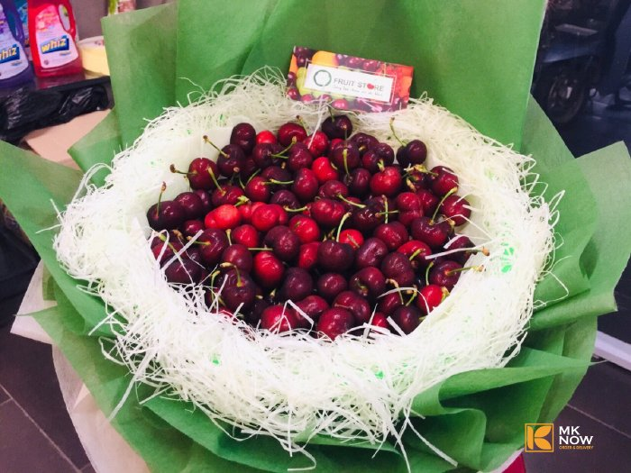 Bó hoa Cherry Mknow