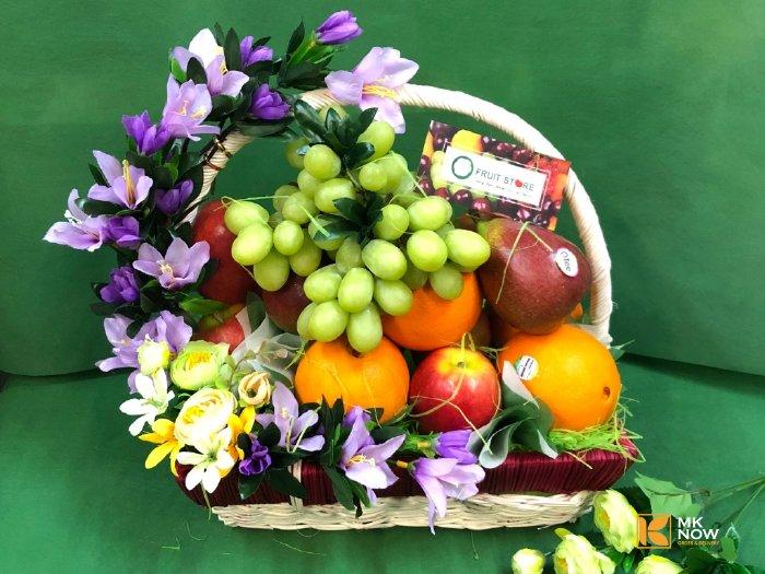 Giỏ trái cây phúng điếu