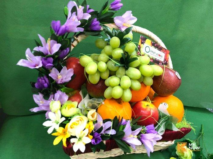 Giỏ trái cây cúng giỗ