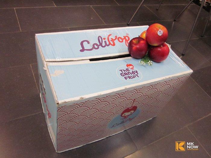 Táo Kẹo Lollipop Pháp