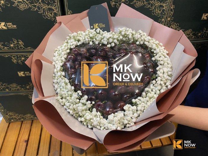 Bó hoa trái cây Cherry - FSNK202