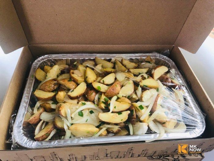 Combo đồ ăn Bò sốt vang & Khoai tây Đà Lạt - MK03
