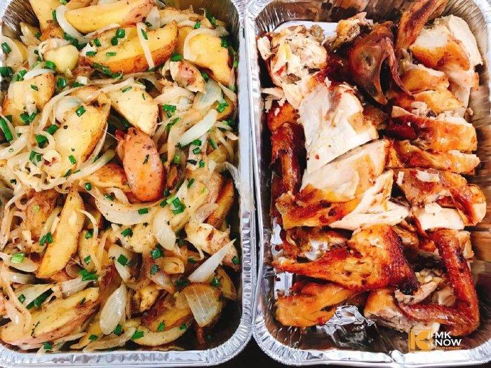 Combo đồ ăn Gà nướng ngũ vị hương & Khoai tây Đà Lạt - MK02