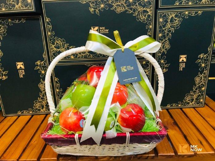 Giỏ hoa quả làm quà cảm ơn - FSNK170