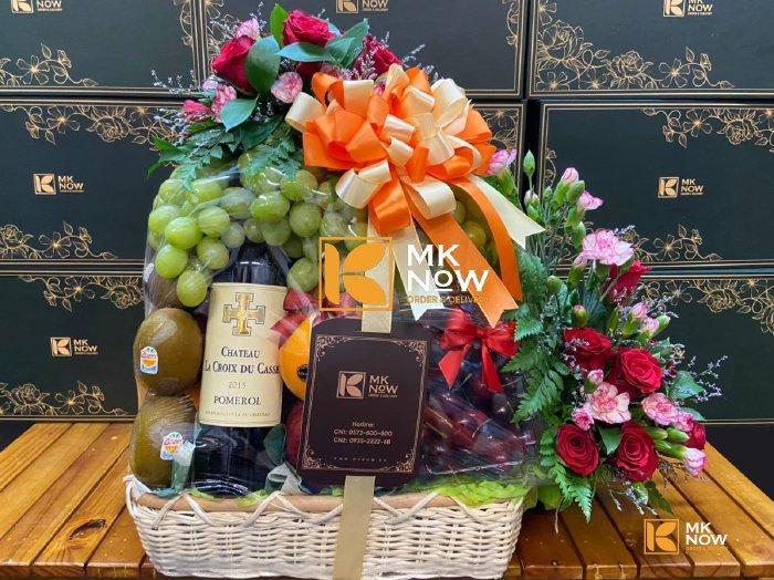 Giỏ quà mừng sinh nhật sếp nam - FSNK247