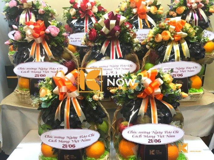 Giỏ quà tặng cho nhà báo - FSNK259