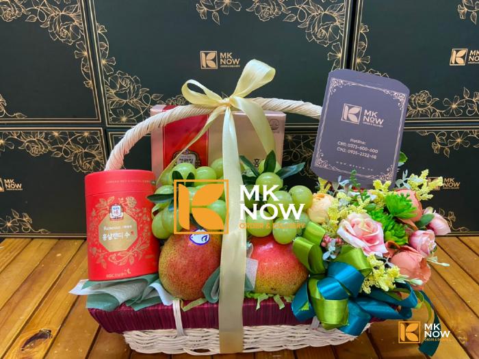 Giỏ quà tặng Happy Mother's Day - FSNK239