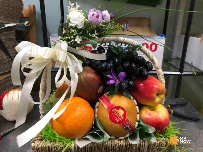 Giỏ trái cây chia buồn - FSNK70