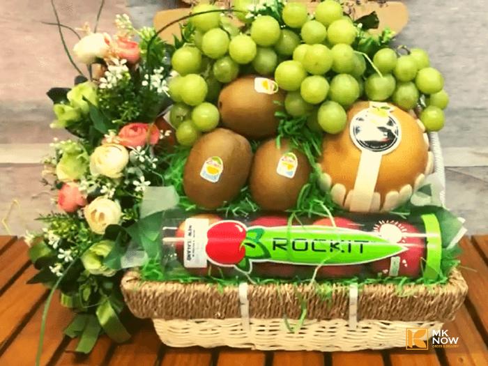 Giỏ trái cây chúc mừng - FSNK110