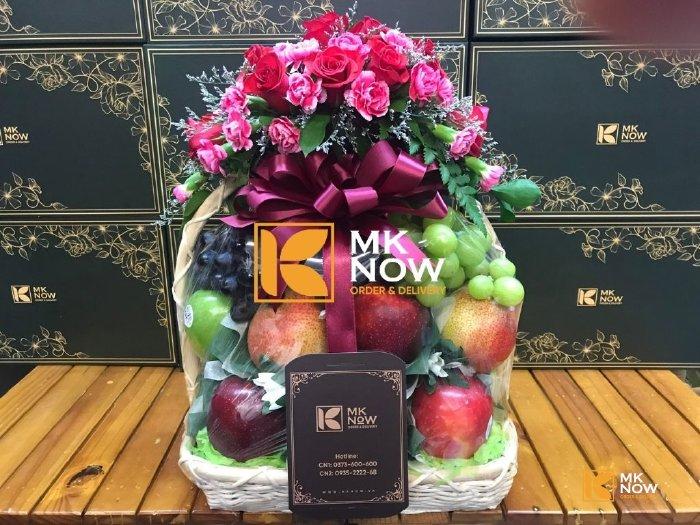 Giỏ trái cây chúc mừng Ngày của Mẹ - FSNK244