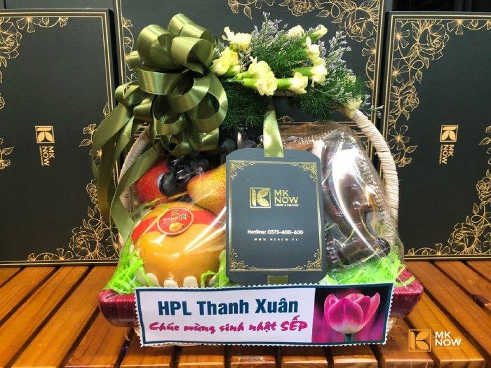 Giỏ trái cây mừng sinh nhật sếp FSNK157