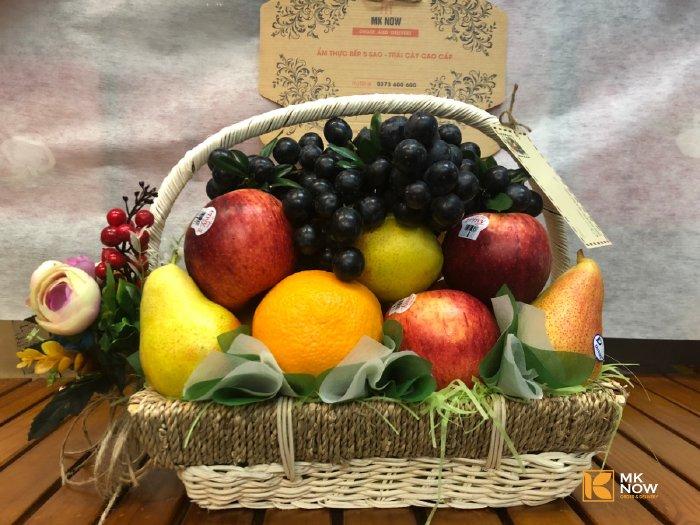Giỏ trái cây cúng Thần Tài - FSNK79