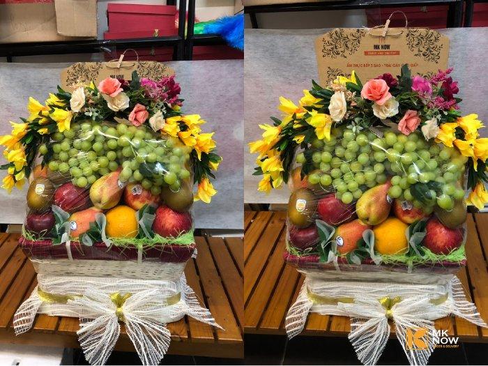 Giỏ trái cây đám cưới - FSNK76
