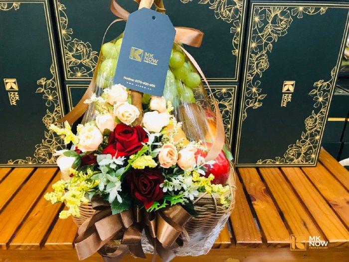 Giỏ trái cây quà tặng doanh nghiệp - FSNK173