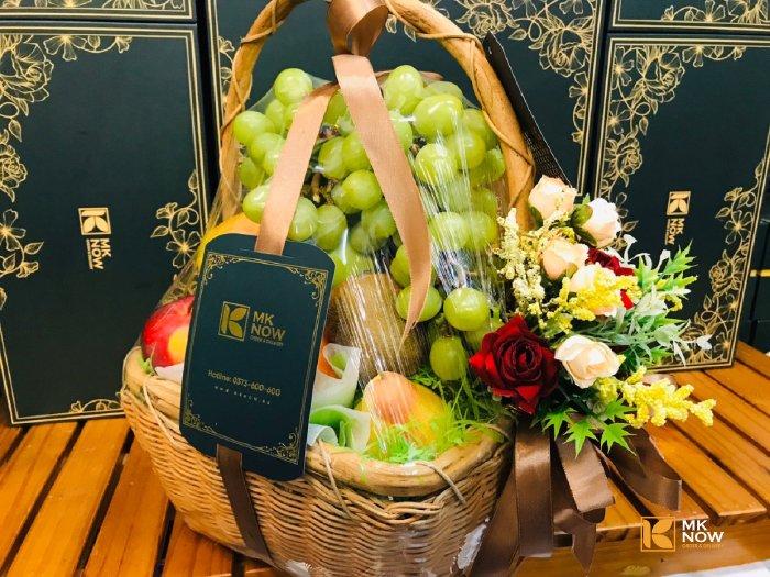 Giỏ trái cây quà tặng sinh nhật sếp - FSNK168