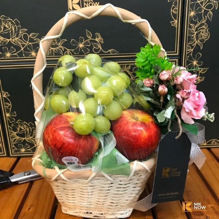 Giỏ trái cây tặng quà cô giáo mầm non 20-10 & 20-11 & 8-3 - FSNK189