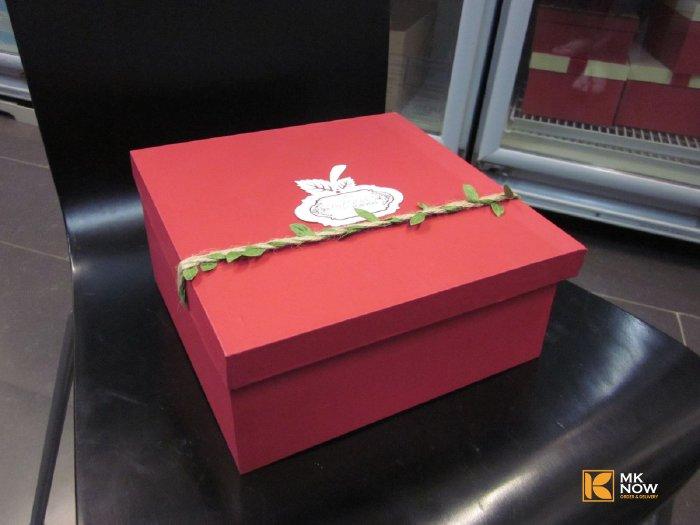 Hộp quà Cherry lớn hình vuông - FSNK46