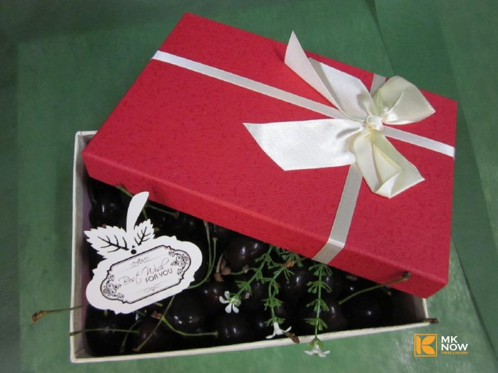 Hộp quà Cherry lớn hình chữ nhật - FSNK47