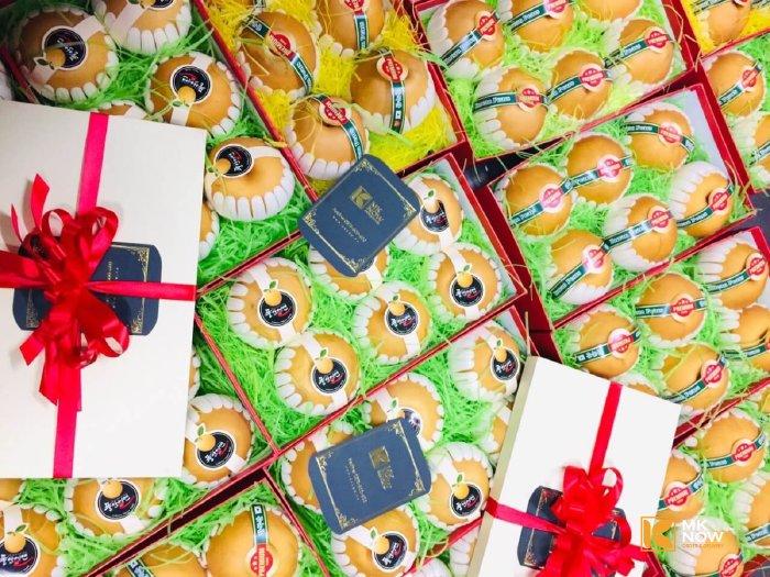 Hộp quà Lê Hàn Quốc nhập khẩu giá từ 500k