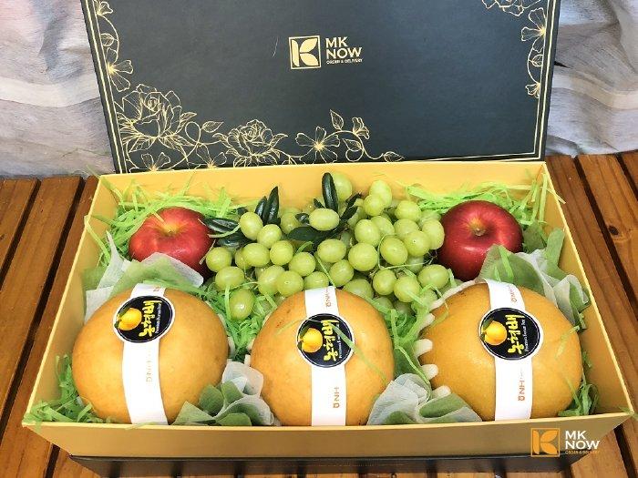 Hộp trái cây biếu Tết HCM - FSNK126