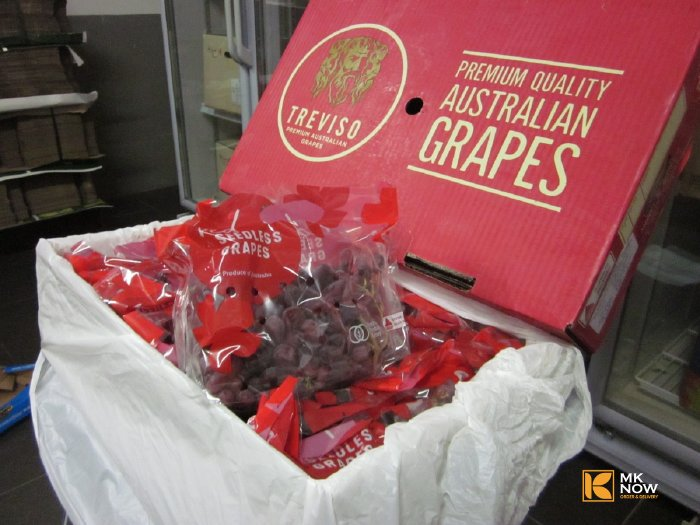 Nho đỏ Úc