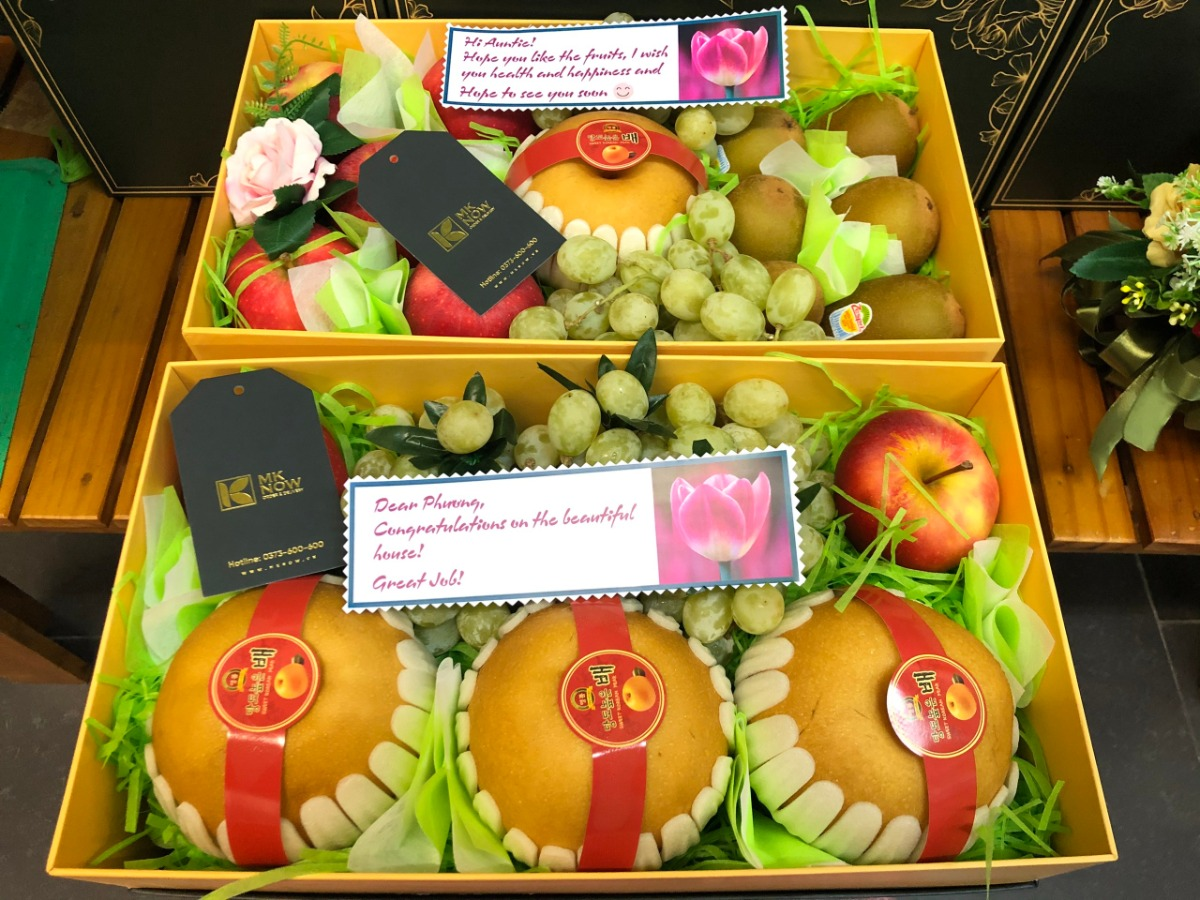 Fruit Baskets in Ho Chi Minh City - District 2, 7, Binh Thanh, Thao Dien, Phu My Hung