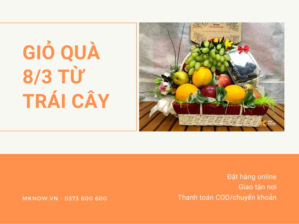 Nhiều người chọn mua trái cây nhập khẩu làm quà tặng dịp lễ Quốc tế Phụ nữ 8/3 - MKnow một trong những địa điểm mua giỏ trái cây quà tặng nhiều nhất tại Sài Gòn