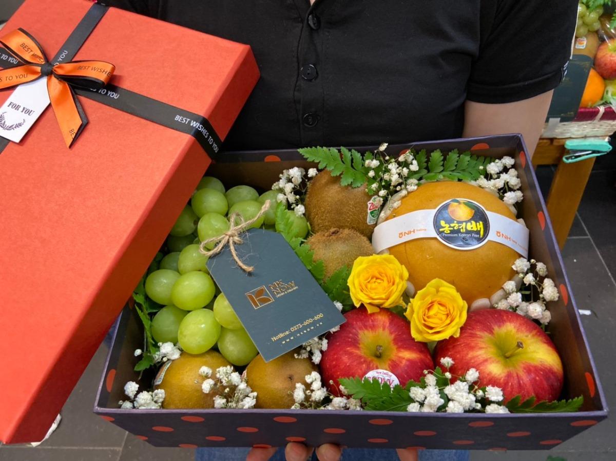 Mknow giỏ trái cây cao cấp - trái cây quà tặng cao cấp TPHCM 2