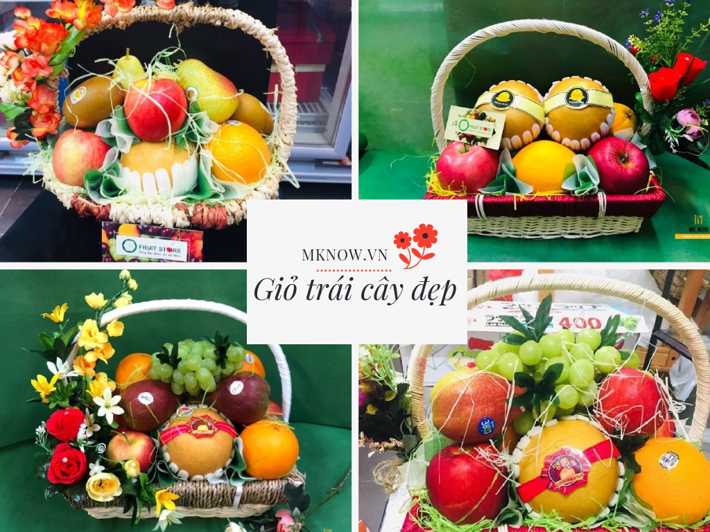 Đặt giỏ trái cây đẹp TPHCM - quà trái tặng cây cao cấp giao tận nơi với đa dạng mẫu mã và mức giá để bạn lựa chọn
