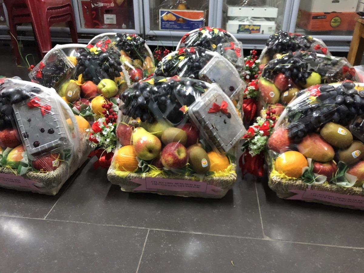 Dịch vụ cung cấp quà tặng trái cây TPHCM