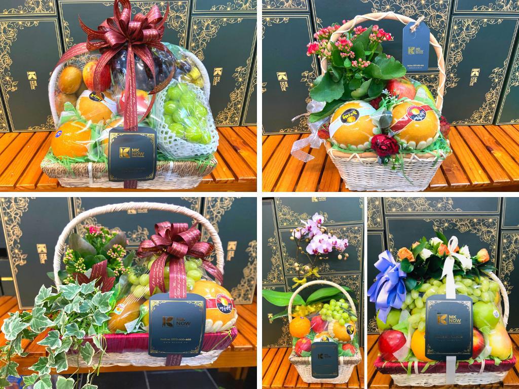 Top 10 - 20 hộp quà, giỏ quà 8/3 hoa và trái cây cho sức khỏe tặng mẹ, vợ, bạn gái, cô giáo, sếp, khách hàng, đối tác