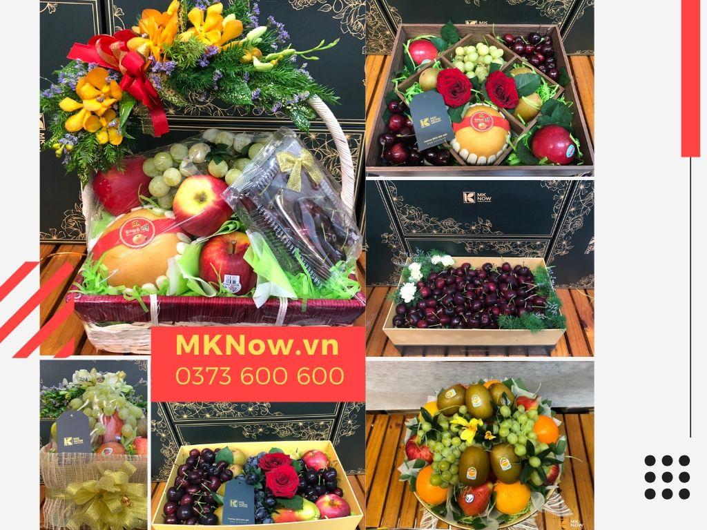 Quà tặng 100% trái cây nhập từ MKNow - hơn 140 món quà sang trọng & tốt cho sức khỏe - ngày càng được nhiều người lựa chọn thay thế cho hoa tươi