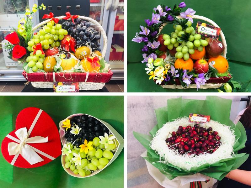 Quà tặng trái cây MKnow - quà tặng sức khỏe ý nghĩa với giỏ trái cây, giỏ hoa quả, hoa trái cây, lẵng hoa quả làm quà sinh nhật, biếu tặng, thăm bệnh, đám giỗ, phúng điếu, cúng viếng.
