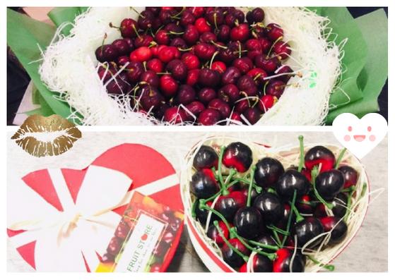 Hộp quà Cherry, Bó hoa Cherry: Món quà Valentine độc và sang tặng vợ, bạn gái dịp lễ tình nhân Valentine 14/2