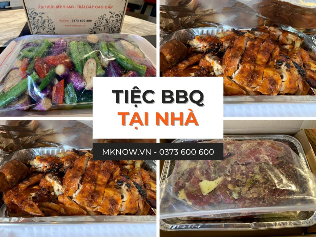 Đặt tiệc nướng ngoài trời - Dịch vụ tiệc BBQ tại nhà, chung cư quận 2, quận 7, Bình Thạnh, Phú Nhuận