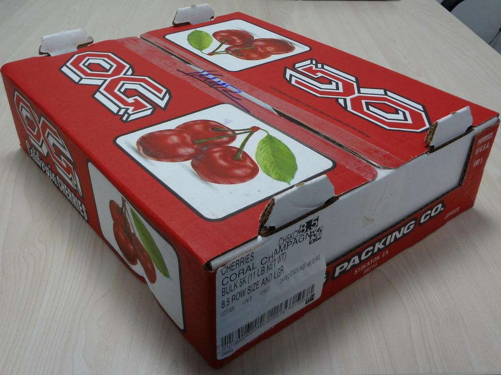 Thùng Cherry Mỹ Size 8.5 | Cherry Nhập Khẩu